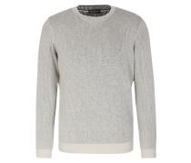 Pullover Im Baumwollmix Weiß