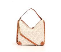 Ledertasche Serena Shoulder Bag Offwhite