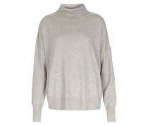 Rollkragen-pullover Im Woll-cashmere-mix Hellgrau