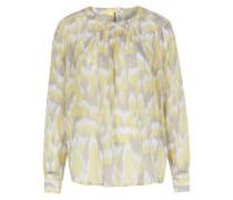 Seiden-Bluse Marielle mit Camouflage-Muster