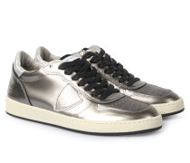 Sneakers Lakers Low Metallic Grau