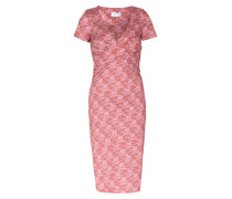 Kleid Verouschka mit Schwanen-Print