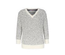 Pullover In Frottee-optik
