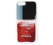 Hard Case Liquid Vernis Rouge Pur Glitter