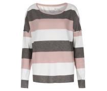 Sweater Mit Blockstreifen Und Cashmere-anteil