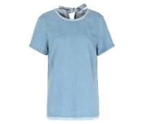 Jeans-shirt Hellblau