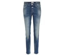 Skinny Jeans Baker Indigo Blue Stretch Denim