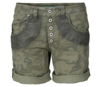 Shorts In Camouflage Look