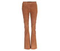 Leder Hose Oak Sude Brown Nut