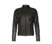 Lederblouson Osborne Antique Black