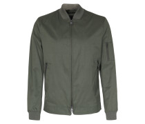 Blouson Nanto mit Zipper-Details Grün