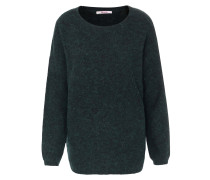 Pullover im Woll-Alpaka-Mix Smaragd