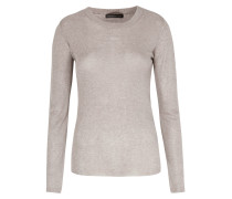 Feinstrick-pullover Tiny Taupe