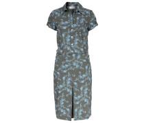 Kleid Mit Algenketten-print