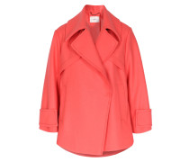Wolljacke In Trench-optik Coral Flash