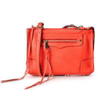 Ledertasche Regan Crossbody Poppy Red Gold