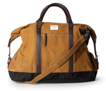 Weekender Jordan aus Canvas Waxed Khaki