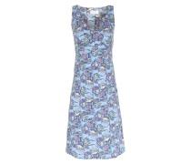 Kleid Verouschka mit Meerjungfrauen-Print Blau