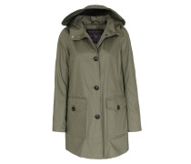 Parka Summer April Wind Mit Kapuze Khaki