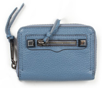 Geldbörse Mini Regan Zip Wallet Dusty Blue