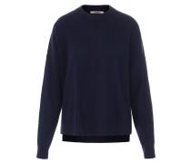 Pullover im Merino-Cashmere-Mix Navy