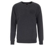 Sweater mit Logo-Print Grey