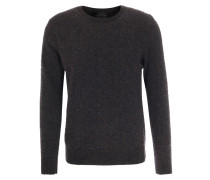 Woll-Pullover Soft Brushed Brown
