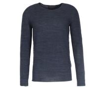 Merino-pullover Aus Perlfang-strick Blushing Grey