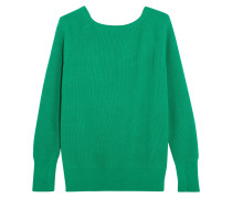 Pullover In Rippstrick Mit Cut-out -
