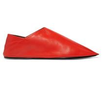Slippers Aus Leder -