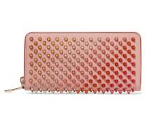 Panettone Nietenverziertes Portemonnaie aus Leder -