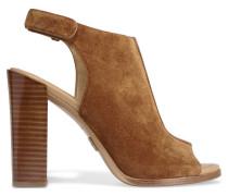 Maeve Slingback-sandalen Aus Veloursleder - Braun