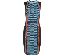 Kleid Aus Einer Wollmischung - Ultramarin