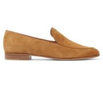 Loafers Aus Veloursleder -