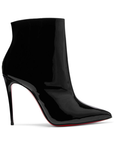 So Kate Booty 100 Ankle Boots aus Lackleder