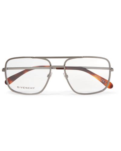 Pilotenbrille aus Edelstahl