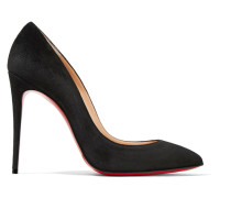 Pigalle Follies 100 Pumps Aus Veloursleder -