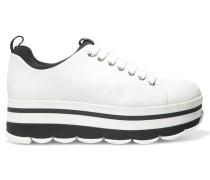 Sneakers Aus Leder - Weiß