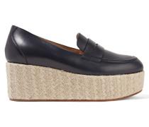 Brucco Loafers Aus Leder Mit Plateau -
