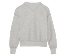 Bailee Sweatshirt Aus Einer Baumwollmischung - Grau