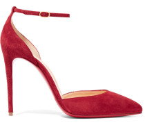 Uptown 100 Pumps aus Veloursleder