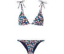 Clemente Bedruckter Triangel-bikini