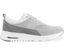 Air Max Thea Sneakers aus Veloursleder