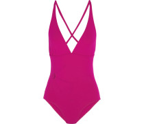 Solaire Orion Badeanzug Mit Cut-outs - Magenta