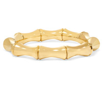 Großes Armband Aus 18 Karat Gold In Bambusoptik