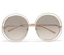 Carlina Verete Sonnenbrille Mit Rundem Rahmen
