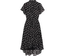 Amaryllis Bedrucktes Kleid aus Chiffon -