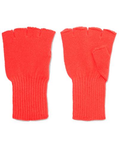 Fingerlose Handschuhe aus Kaschmir
