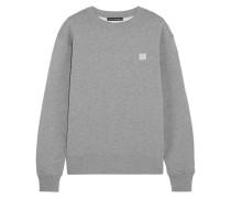 Fairview Sweatshirt Aus Baumwoll-jersey Mit Applikation -