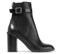 Romi Ankle Boots Aus Leder Mit Nieten -